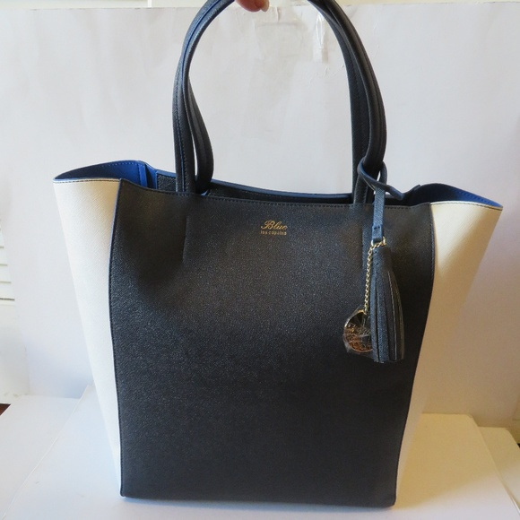 NWT BLUE LES COPAINS NAVY dc77acdce6